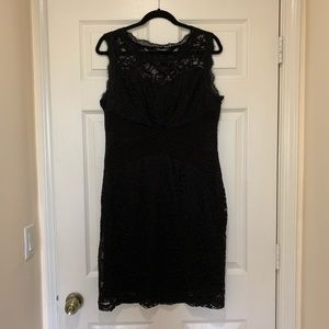 Candalite Classic cocktail black dress.